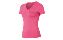 Odlo SWIFT tshirt sport Femme s/s, v-neck rose